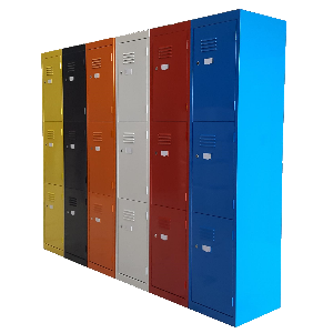 Steel Lockers Multicoloured Australian Made
