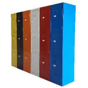 Steel Lockers Multicoloured Australian Made