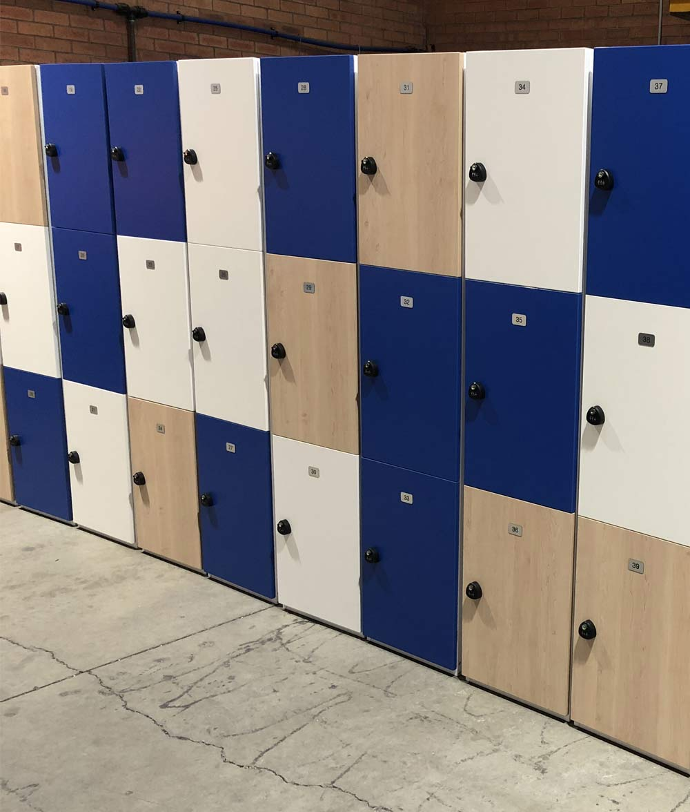 Hybrid Lockers Mixed Colours