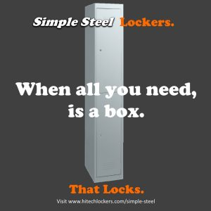 simple steel locker artwork from hi tech lockers