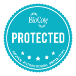 BioCote antimicrobial locker logo