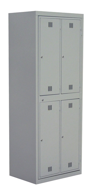 garment hang locker light grey