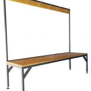 Bench Seat with Towel Rack - Single - JPG
