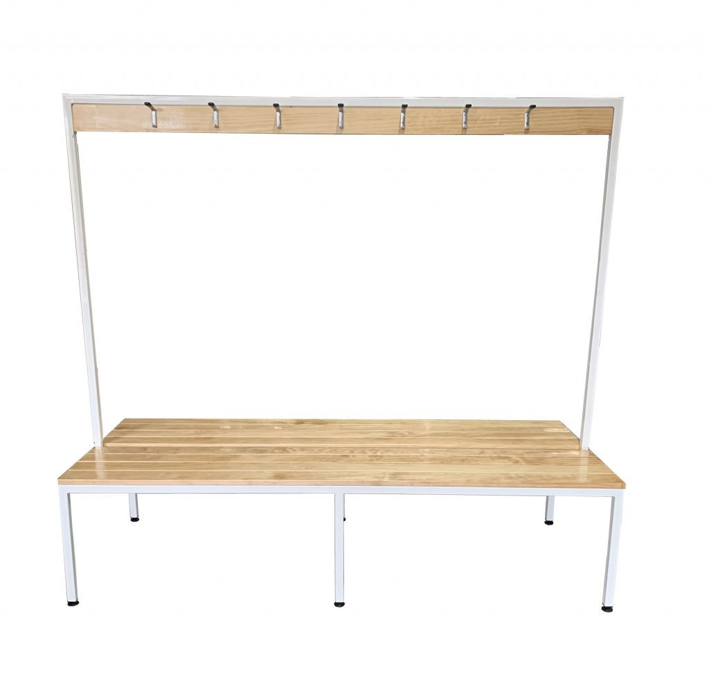 Double Coat Rack and Bench