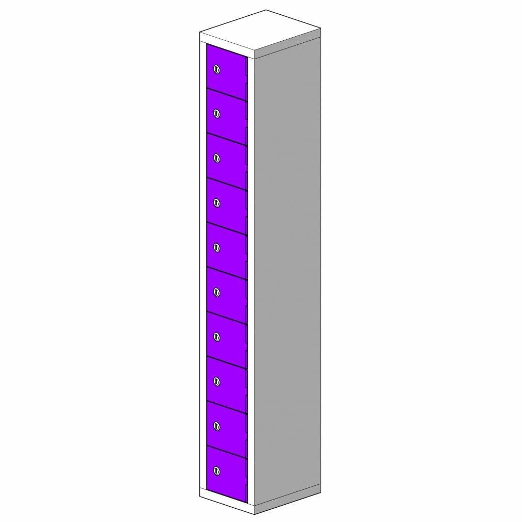 10 Door Micro Locker B1 Hi Tech Lockers